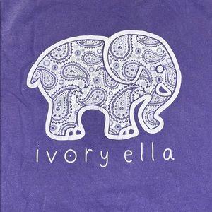 Ivory Ella Long sleeve pocket tee